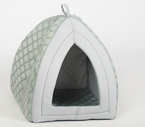 Cama Sady para mascotas, con forma de iglú, diseño acolchado, bien aislada, para perros y gatos: Amazon.es: Productos para mascotas