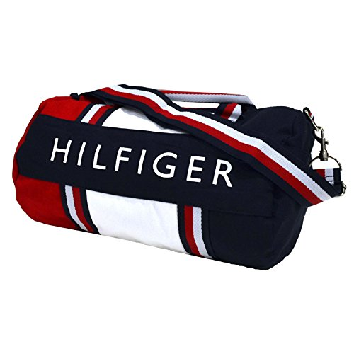 Tommy Hilfiger Patriot Duffle Bag - Navy   Red - Import It All 475b77d2ed