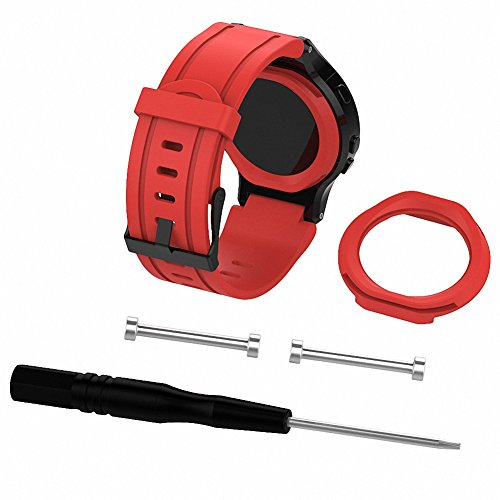 225 Phone - For Garmin Forerunner 225 Replacement Band,Gentman Silicone Wristband Replacement Watch Straps Sports Watchband for Garmin Forerunner 225
