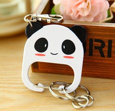 Cute Keychain Creative Lady Key ring Panda