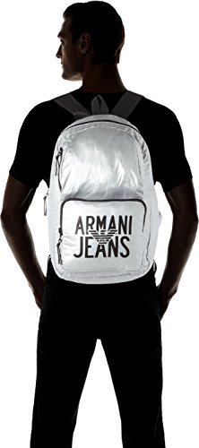 Men's Silver Backpack Armani Zaino Argento Jeans 8Rqw7wZ
