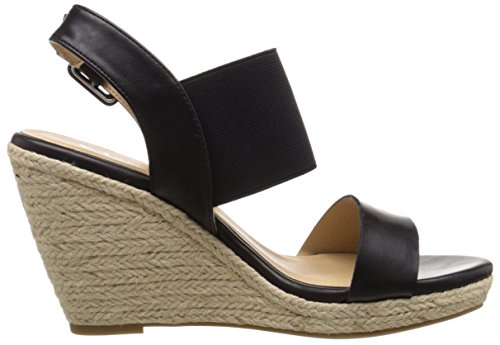 Portia by Laundry Burnished Wedge Women's Chinese Sandal CL Black w1ZqpxRSS