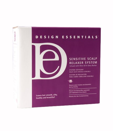 (Design Essentials Sensitive Scalp Relaxer System Kit 20)