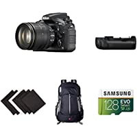 Nikon D810 FX-format Digital SLR w/ 24-120mm f/4G ED VR Lens Deluxe Battery Grip Bundle