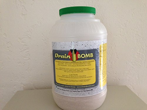 Drain Bomb Powder -Powerful Drain & Septic Additive - Restores Septics & Leachbeds - 4 Pounds by Drain Bomb (Image #1)