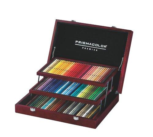 Prismacolor Premier Colored Pencil Wooden Box Set 96 Pencils 1758100