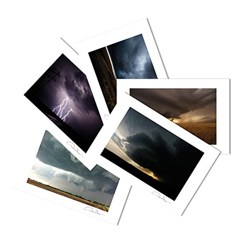Storms Postcard Prints. Variety Pack. 4x6, 10 Pack 2 of Each. Storm Series. Unique Birthday Cards, Thank You Notes & Invitations. Best Quality Christmas & Valentine's Day Gifts for Women, Men and Kids (Thank You Doctor Gift Baskets)