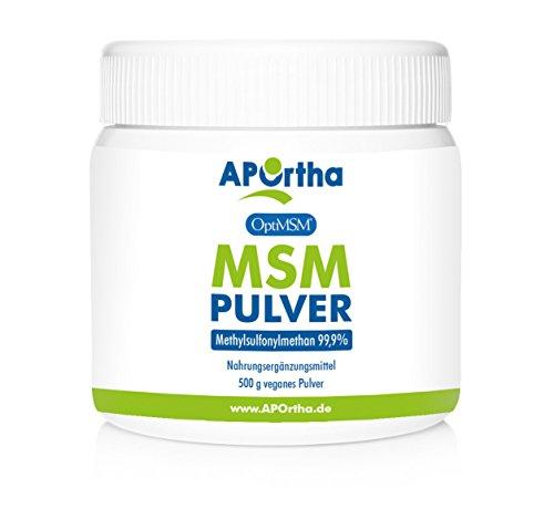 APOrtha OptiMSM ® MSM Pulver - 500 g
