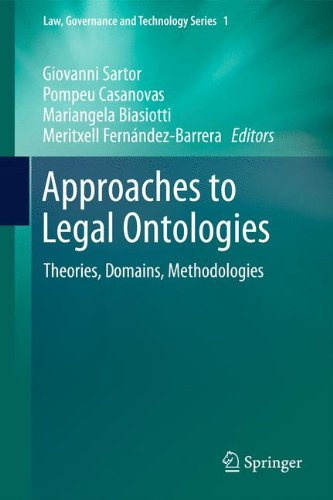 Approaches to Legal Ontologies: Theories, Domains, Methodologies: 1