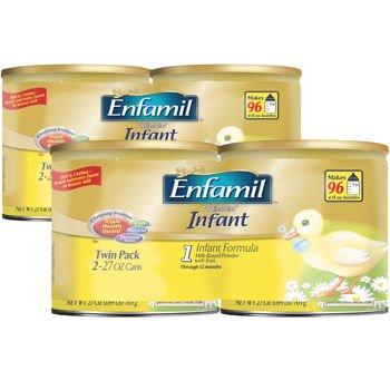 Enfamil® PREMIUM™ Infant Formula Infant Formula 4 - 27oz Containers (Formula Enfamil Pack Infant 4 Of)