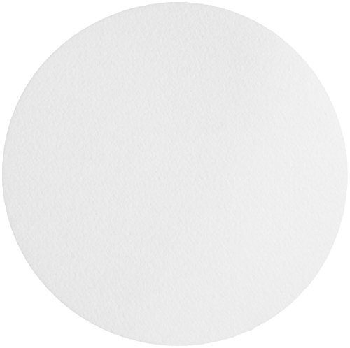 Whatman 1005-150 Qualitative Filter Paper Circles, 2.5 Micron, 94 s/100mL/sq inch Flow Rate, Grade 5, 150mm Diameter (Pack of 100)