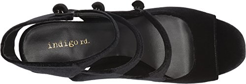 Indigo Rd. Womens Elita Pump Black Velvet 5ZQuZFRrrU