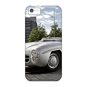 Awesome 1957 Mercedes 300sls Flip Case With Fashion Design For Iphone 5c
