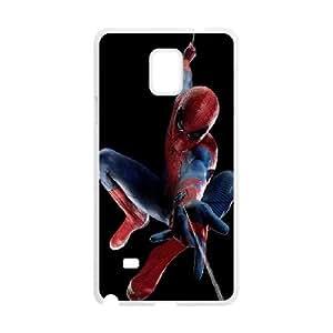 The Amazing Spider Man funda Samsung Galaxy Note 4 Cubierta blanca del teléfono celular de la cubierta del caso funda EVAXLKNBC17144