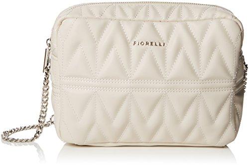 Fiorelli Women's Lola Cross-Body Bag White (Jasper White Quilt)
