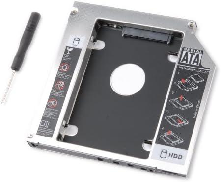 tinxi® Segundo HDD Caddy / SSD Caddy adaptador SATA disco duro ...