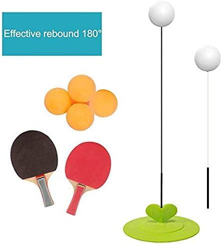 Mesa Ping Pong Trainer Elástico Suave Eje Mejora Atención Mejorar Coordinación Mano-Ojo Fuerte para Prevenir Vuelco Interior Juegos Aire Libre: Amazon.es: Deportes y aire libre