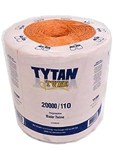 Amazon com: Tytan International Bale Twine (2 Pack), Orange