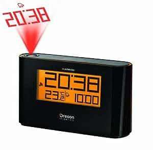 Oregon Scientific Reloj con proyector y temperatura