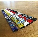 JapanBargain Brand 5 pair Japanese Style Chopsticks Gift Set Crane (Crane)