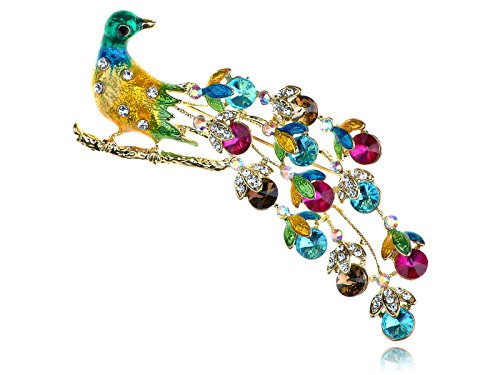 Animal Multi Colored Brooch - 2