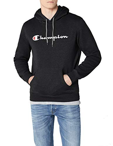 grigio Uomo Felpa Champion Sweatshirt Grigio Institutionals Scuro Hooded w4qxHTSB
