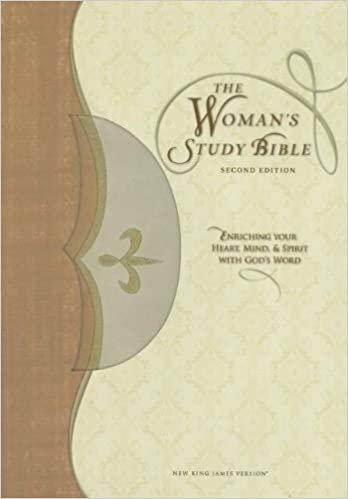 The Woman's Study Bible: New King James Version, Tan/Cream