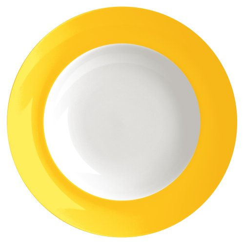 Waechtersbach Uno Soup Plates, Curry, Set of 4