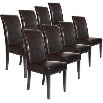 Lot Ensemble De 8 Chaises Pour Salle A Manger Salon