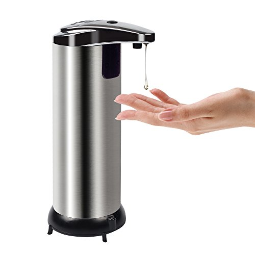 Century Automatic Soap Dispenser, Stainless Steel Touchless