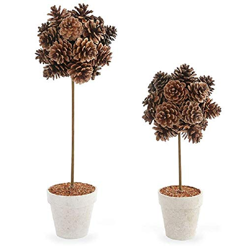 Mud Pie Preserved Pinecone Topiary (Small) (Pinecone Topiary)