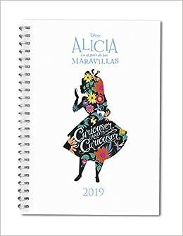 Agenda Alicia País Maravillas 2019: Disney: 9788417166298 ...