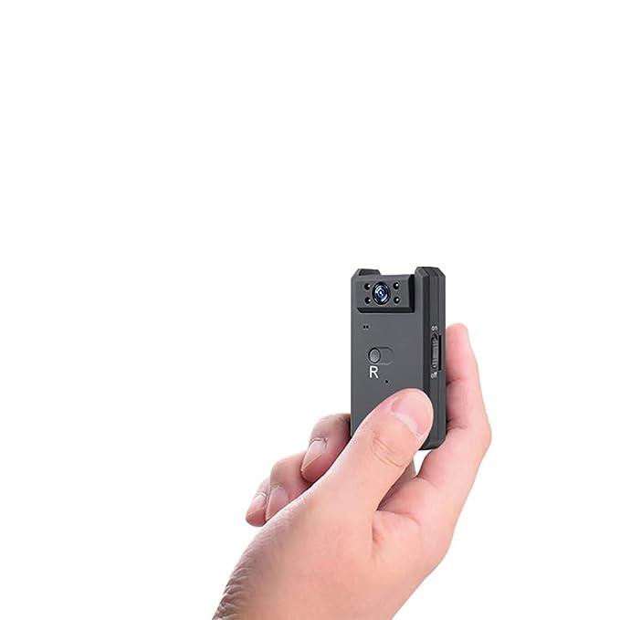 Mini Cámara Espía Oculta, WiFi 4K / 1080P Cámara De Acción Portátil Inalámbrica/Detección De Movimiento/Versión Nocturna, para Vigilancia En El Hogar Y ...