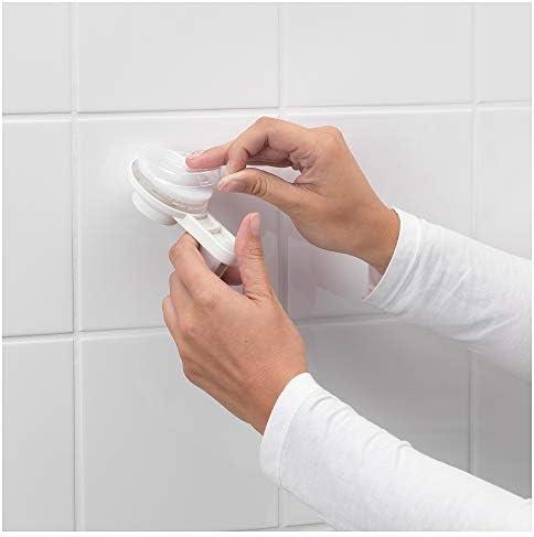 color blanco IKEA 2/paquetes portarrollos de papel higi/énico