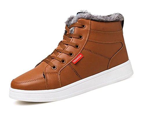 Business Samt Blau Brown Casual Männer LINYI Schuhe Plus Winter Baumwolle Sport Schuhe Braun Wärme Schwarz 4qBU8