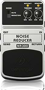 Behringer NR300 4033653052054 - Puerta de ruido para guitarra, color blanco