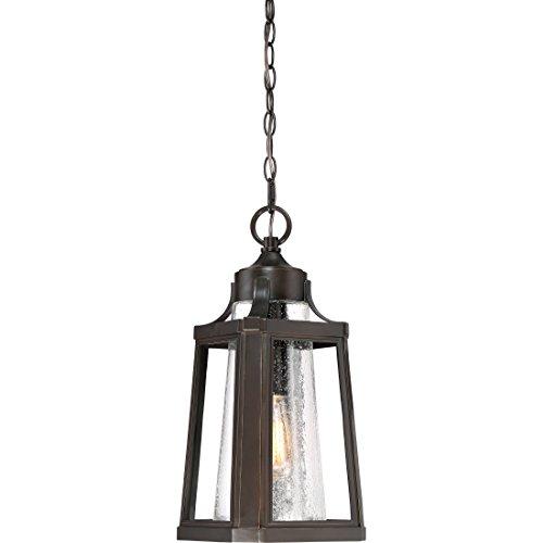 (Quoizel LTE1909PN Lighthouse Outdoor Lantern Pendant Lighting, 1-Light, 150 Watts, Palladian Bronze (19
