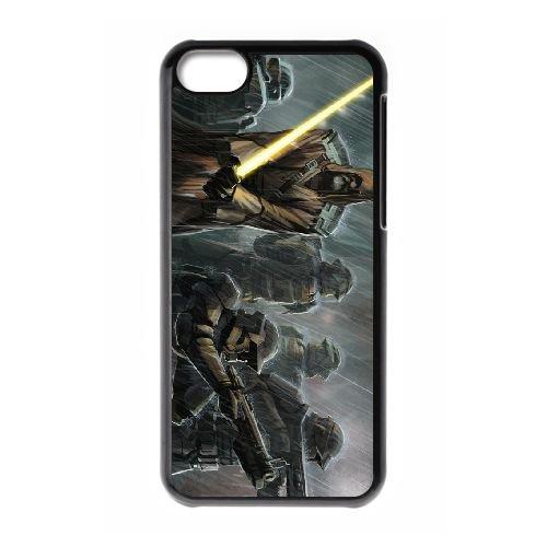 Star Wars The Old Republic 12 coque iPhone 5c cellulaire cas coque de téléphone cas téléphone cellulaire noir couvercle EEECBCAAN00449