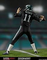 best website dd04e 6b031 McFarlane Toys EA Sports Madden NFL 18 Ultimate Team Series 1 Carson Wentz  Philadelphia Eagles Action Figure