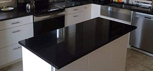 Countertop Update: Faux Black Granite NOT Grandma's Contact Paper Update Counter Top Film 36