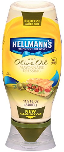 Hellmann's Mayonnaise Dressing with Olive Oil, Squeeze