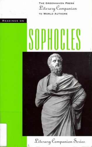 Sophocles (Paperback Edition) (Literary Companion (Greenhaven Paperback))