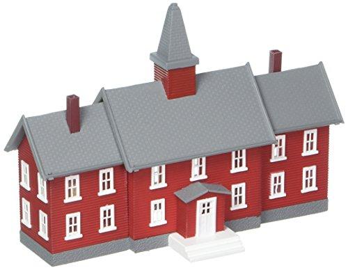 Scale Schoolhouse (N B/U Little Red School House)