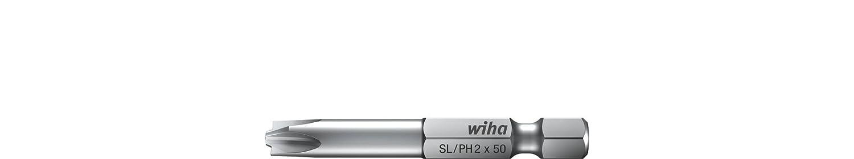 Wiha Professional bits 7049XH1050 forme E 6,3 Xeno-Schlitz//Philips