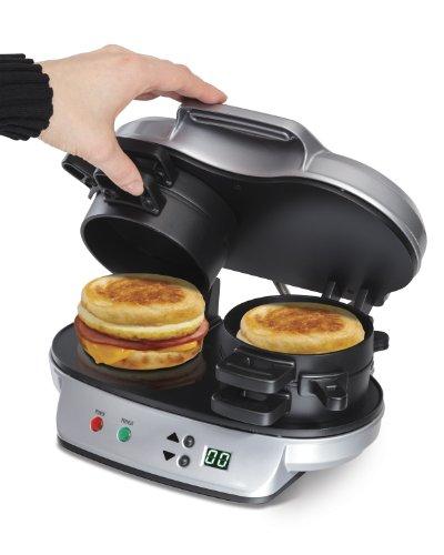 040094254903 - Hamilton Beach 25490 Dual Breakfast Sandwich Maker carousel main 6