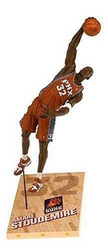 T M P Intl NBA Series 9: Phoenix Suns #32 Amare Stoudemire 2, Orange - Stoudemire Nba Amare