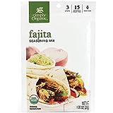 Simply Organic Fajita Seasoning, Certified Organic | 1 oz