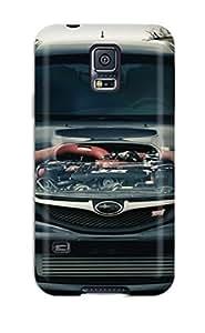 Cynthaskey Iphone 5/5S Case Cover Hybrid Tpu Case Cover Silicon Bumper Subaru Impreza 5