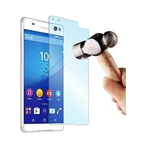 Made for Xperia SESCP0048 - Protector de pantalla de cristal templado anti rayos azules para Sony Xperia C5 Ultra/ C5 Ultra Dual