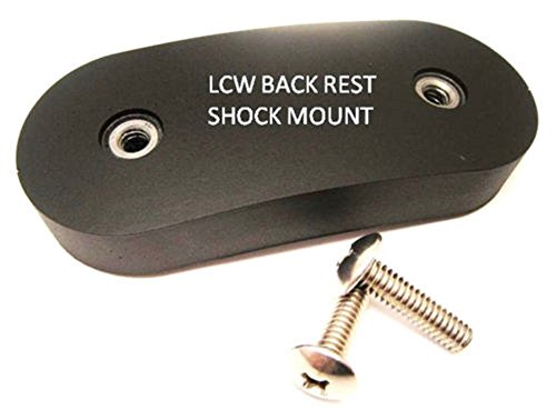 - beautifulwoman Replacement Parts Lounge Chair Wood Back Shock Mount for Eames Herman Miller